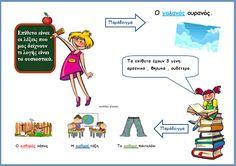 Greek Language, Greek Alphabet, Second Grade, Special Education, Grammar, Teacher, Activities, School, Blog