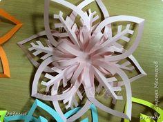 Поделка изделие Новый год Вырезание Объемные снежинки новый взгляд на старые идеи 44 фото Бумага фото 10