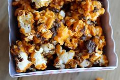 Make gourmet popcorn to serve, or package for great gifts. Try Kahlua espresso, bacon and more flavors.