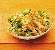 Tabbouleh is a classic Lebanese bulghar wheat salad - with this recipe adding couscous to the mix
