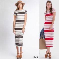 Rayon short sleeve midi dress Rayon short sleeve midi dress Dresses Midi