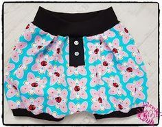 """Lilexxleli: Freebook Ballonshorts """"BumBum"""" Shorts Outfits Women, Short Outfits, Sewing For Kids, Baby Sewing, Baby Shorts, Baby Bloomers Pattern, Cute Baby Clothes, Clothes For Women, Rainbow Outfit"""