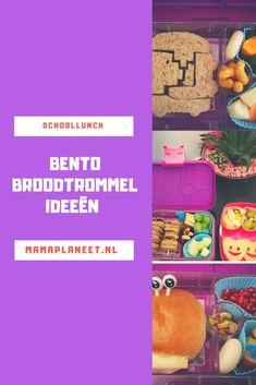 Schoollunch a la bento Bento Box, Spam, Dutch, Stress, Snacks, School, Tips, Blog, Appetizers