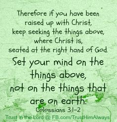 Memorizing the book of Colossians in 2013!!!
