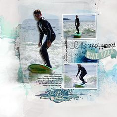 Surfer boy by Heather Prins