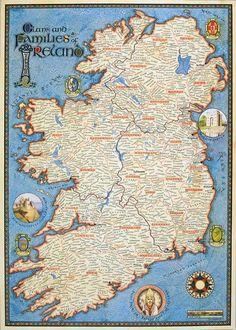 medieval ireland | Ireland medieval map | Genealogy