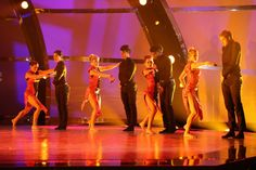 """The top 8 contestants perform a dance routine to """"Run Boy Run"""" choreographed by Peter Chu on SO YOU THINK YOU CAN DANCE."""