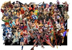 The last few years have been a resurgence of fighting games, with big hitters such as Street Fighter and Tekken helping to push this revival of. Street Fighter Tekken, Xbox 360 Video Games, Fighting Games, Mortal Kombat, New Years Eve, Art Pictures, Christmas Tree, Fan Art, Holiday Decor