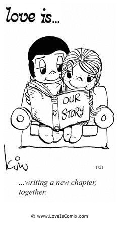 Love is. Number one website for Love Is. Funny Love is. pictures and love quotes. Love is. comic strips created by Kim Casali, conceived by and drawn by Bill Asprey. Everyday with a new Love Is. Love Is Comic, What Is Love, I Love You, Just For You, True Love Is, Love Is Gum, Love My Husband, Perfect Husband, Husband Wife