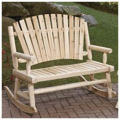 Double rocking adirondack chair plans downloadable free plans