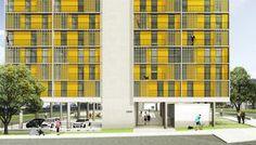 Galeria de 1º Lugar no concurso CODHAB-DF para edifícios de uso misto em Santa Maria/DF - 2