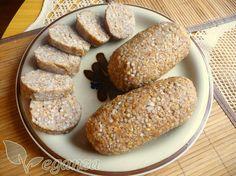 Pohankový knedlík Baked Potato, Paleo, Frozen, Bread, Homemade, Vegan, Baking, Ethnic Recipes, Food