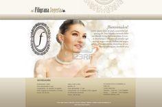 Maqueta de Sitio Web para Filigrana Joyeria