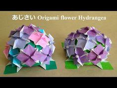 折り紙の花 あじさい 立体 折り方(niceno1)Origami flower Hydrange 3D - YouTube Origami Flowers, Paper Flowers, Envelopes, Paper Crafts, Diy Crafts, Hydrangea, Orchids, Youtube, Handmade