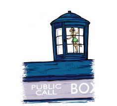 """""""Stowaway""""! Love this Tink + Tardis crossover shirt from TeeFury! Shirt on sale for 24hrs!"""