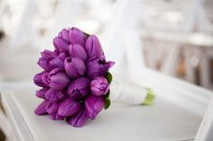 #tulips, #bouquet | photography:  thepopes.com |  floral design: bellarugosa.com | as seen on #smp http://stylemepretty.com/2013/01/14/modern-seattle-wedding-from-the-popes/