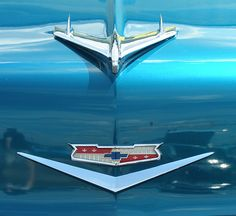 '56 Chevy My Dream Car, Dream Cars, Vintage Cars, Antique Cars, Chevy Vans, Car Hood Ornaments, 1955 Chevrolet, Table Signs, Nice Cars