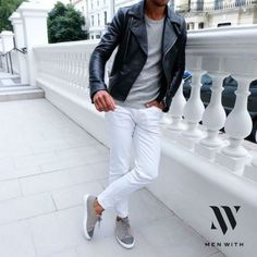 10 Looks Masculinos Mostram Como Usar Calças Brancas no Inverno