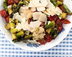 Asparagus-Strawberry Salad