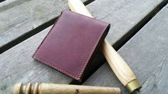 Check out this item in my Etsy shop https://www.etsy.com/listing/475390903/bifold-leather-wallet-burgundy-and-honey