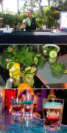 Hire mixologist Vincent Roa for professional and quality bartending services for your house parties and events. He does cocktail events, wine-tasting, and more.