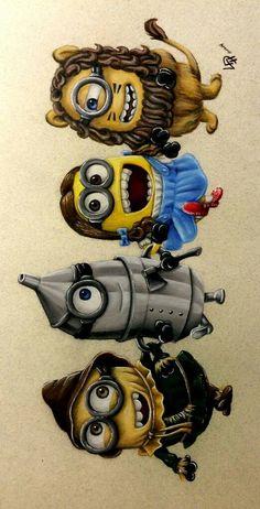 Minions Wizard of Oz Minion Rock, Cute Minions, My Minion, Funny Minion, Minion Pictures, Funny Pictures, Funny Images, Funny Pics, Funny Jokes