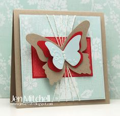 I Create: Color Throwdown 194 and Deconstructed Sketch 54  Stampin Up