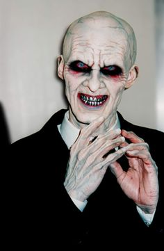 halloween makeup vampire man - photo #49