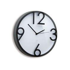 clocks, wall clocks, desk clocks, time off wall clock | Umbra