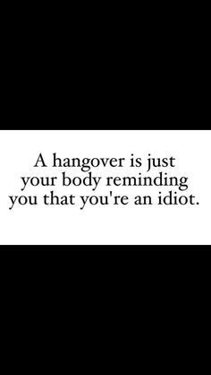 Hangover quote