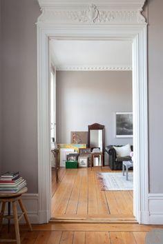 The perfect floor and other perfections (from Keltainen talo rannalla: Kauniita koteja