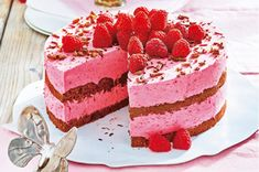 Mango, Cheesecake, Eat, Desserts, Food, Cakes, Chocolate Cherry Cookies, Raspberries, Essen
