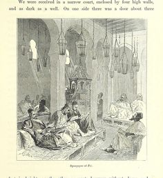 Image taken from page 289 of 'Morocco: its people and places ... Translated by C. Rollin-Tilton. With ... illustrations' | by The British Library