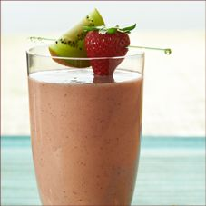 Several smoothie recipes from Slim-Fast!