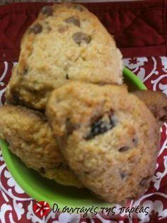 Απίθανα μπισκοτάκια με ξηρούς καρπούς και βρώμη Recipe Images, Healthy Desserts, Muffin, Cookies, Breakfast, Recipes, Food, Health Desserts, Crack Crackers