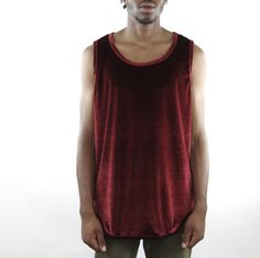 Velour OG Long Tank Burgundy- eptm #mensbracelets #mensjewelry #eptmusa #madeinlosangeles #menswear #madeinusa #streetwear #bananarepublic #pacsun #eptmusa #surferstyle #skatestyle #beachwear #socal #beachfashion #skateshop #streetwearboutique #streetwearsale #bestlooks #outfitkillers #thatsdiamondz