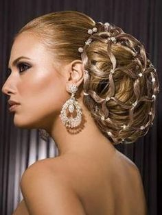 Beautiful Hair, styled with amazing Professional Products