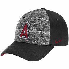 97dbe697008 Men s Los Angeles Angels of Anaheim Nike Heathered Black New Day H86  Adjustable Hat Angels Baseball