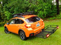 Towing a small tent trailer with a Subaru XV Crosstrek