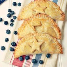Patriotic Hand Pies {4th of July Food}