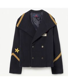Shan and Toad - Luxury Kidswear Shop - The Animals Observatory Lion Navy Jacket High End Fashion, Kids Fashion, Stylish Outfits, Kids Outfits, Shops, Kids Clothing Brands, Navy Jacket, Winter Kids, Blue Wool