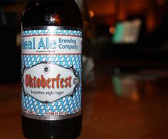 Get in the spirit of the season with a delicious Real Ale Brewing Oktoberfest beer.