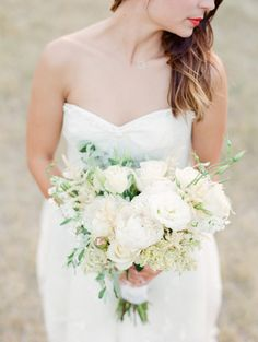 Simple, sweet stylized wedding by Park Road Photography