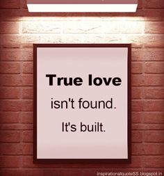 Truth! True love takes work, tears, forgiveness, plenty of grace, acceptance, healing, love.... love and more love! No fairytales!