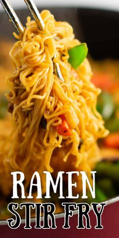 easy ramen noodle stir fry recipe - making this for dinner one day this week! easy ramen noodle stir fry recipe - making this for dinner one day this week! Ramen Noodle Recipes, Stir Fry Recipes, Cooking Recipes, Easy Ramen Recipes, Chinese Food Recipes, Pasta Dishes, Food Dishes, Ramen Dishes, Le Diner