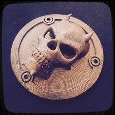 3D-DRAG: Devil Skull oil filter cap