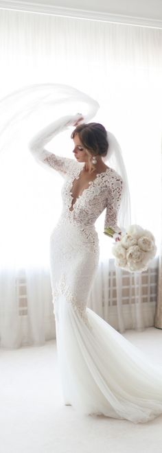 Mermaid Wedding Dress lace wedding gowns sexy wedding dresses Engagement and Hochzeitskleid Hochzeitskleid Order Wedding Invitations Online Engagement and Hochzeitskleid 2019 White Lace Wedding Dress, Lace Mermaid Wedding Dress, Sexy Wedding Dresses, Wedding Dress Sleeves, Long Sleeve Wedding, Mermaid Dresses, Dresses With Sleeves, Winter Wedding Dresses, Brides Dresses Lace