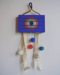 """0 """"Μου αρέσει!"""", 1 σχόλια - Tsagiero Handmade (@tsagierohandmade) στο Instagram: """"• For good luck!  Stay tuned www.facebook.com/TsagieroHandmade  #evileye #luckycharm #ornament…"""""""