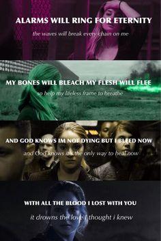 My Blood by Ellie Goulding ~Divergent~ ~Insurgent~ ~Allegiant~