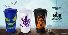 Mug Argon Productos Promocionales Halloween. Proimpo